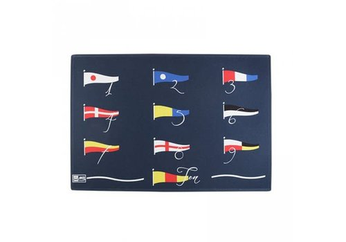 ARC Marine Welcome - 123 Flags - 75x50 cm