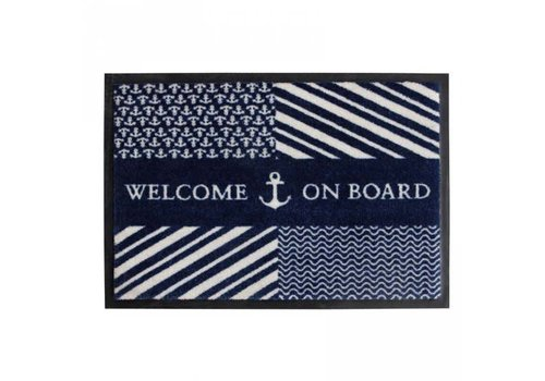 ARC Marine Welcome - Navy - 70x50 cm