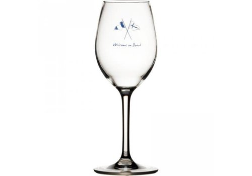 ARC Marine Welcome on Board - Wijnglas - H 21.5 cm