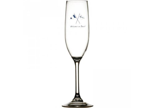 ARC Marine Welcome on Board - Champagneglas - H 25 cm