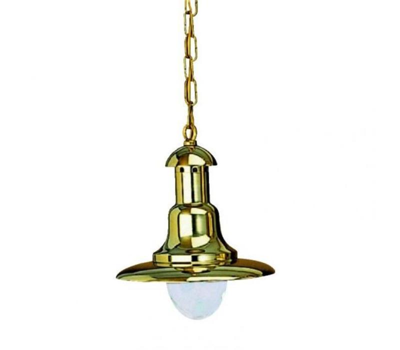 Hanglamp 'Fissiaggio' messing - Picollo