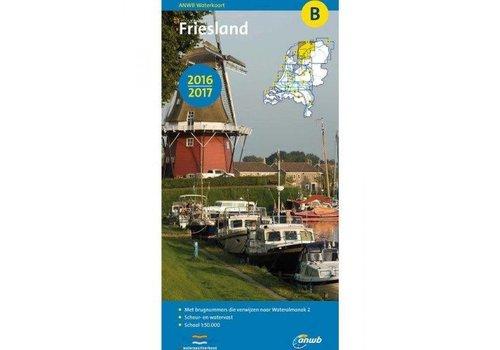 Waterkaart B Friesland