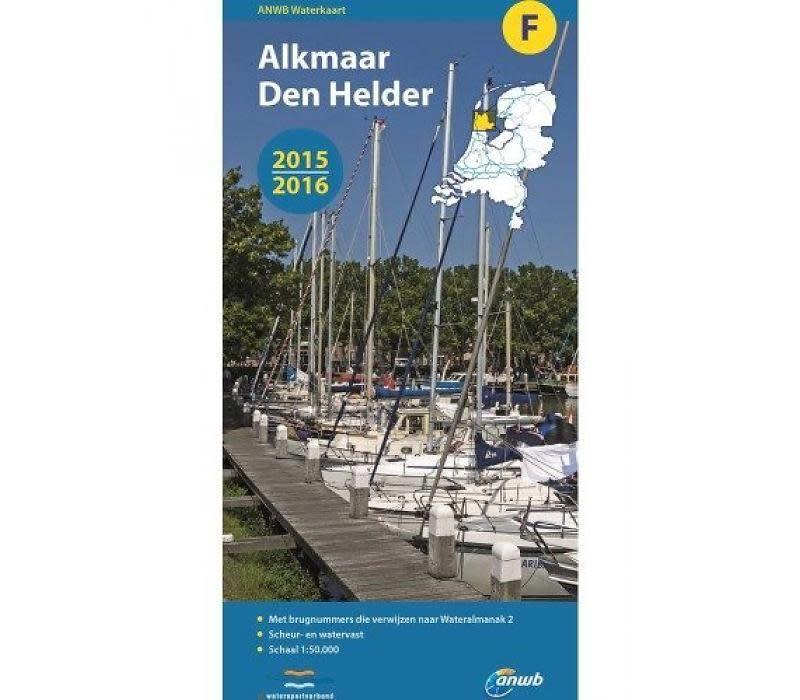 Waterkaart Alkmaar - Den Helder - F