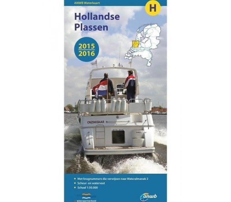 Waterkaart Hollandse Plassen - H