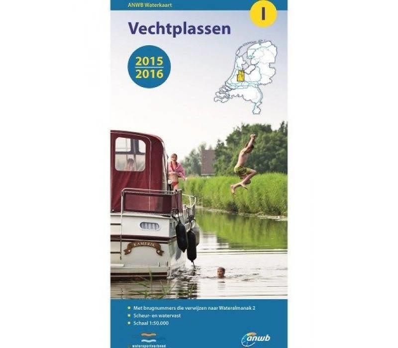 Waterkaart Vechtplassen - I