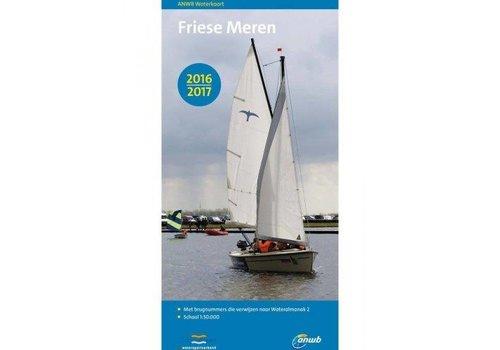 Waterkaart Friese Meren