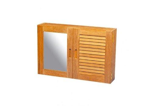 ARC Marine Kast met louvre en spiegel deur