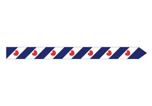 Talamex Talamex vlaggen Nederland: Wimpel Friesland 300