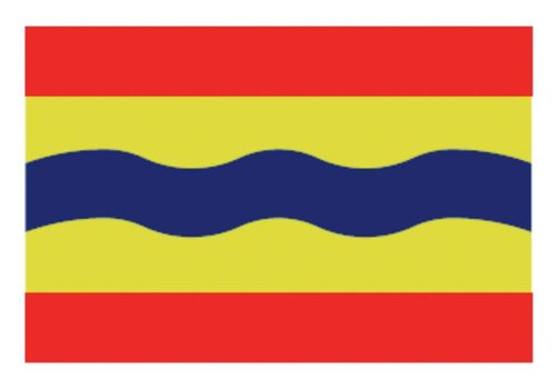 Talamex Talamex vlaggen Nederland: Provincievlag Overijssel 30x45