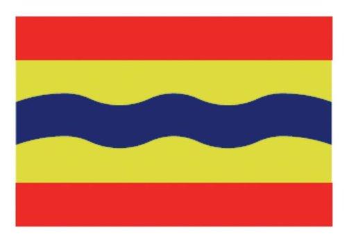 Talamex Talamex vlaggen Nederland: Provincievlag Overijssel 20x30