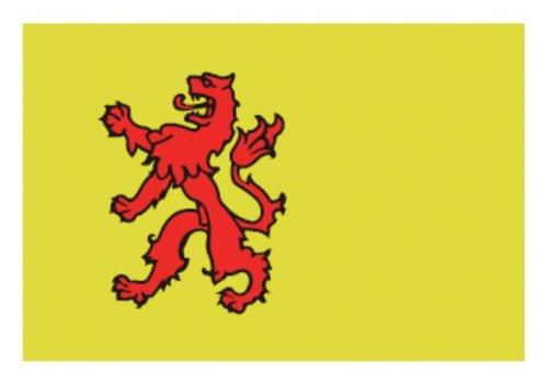 Talamex Talamex vlaggen Nederland: Provincievlag Zuid-Holland 20X30