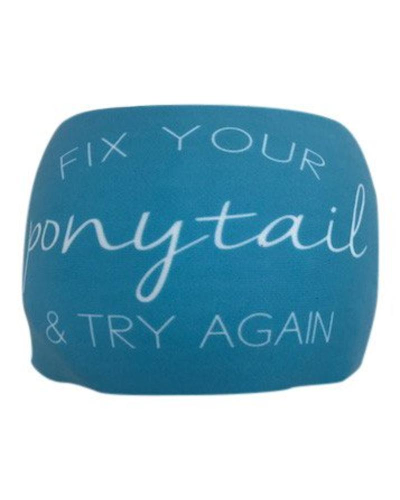 BONDIBAND BondiBand HB - Blue Fix your ponytail and try again
