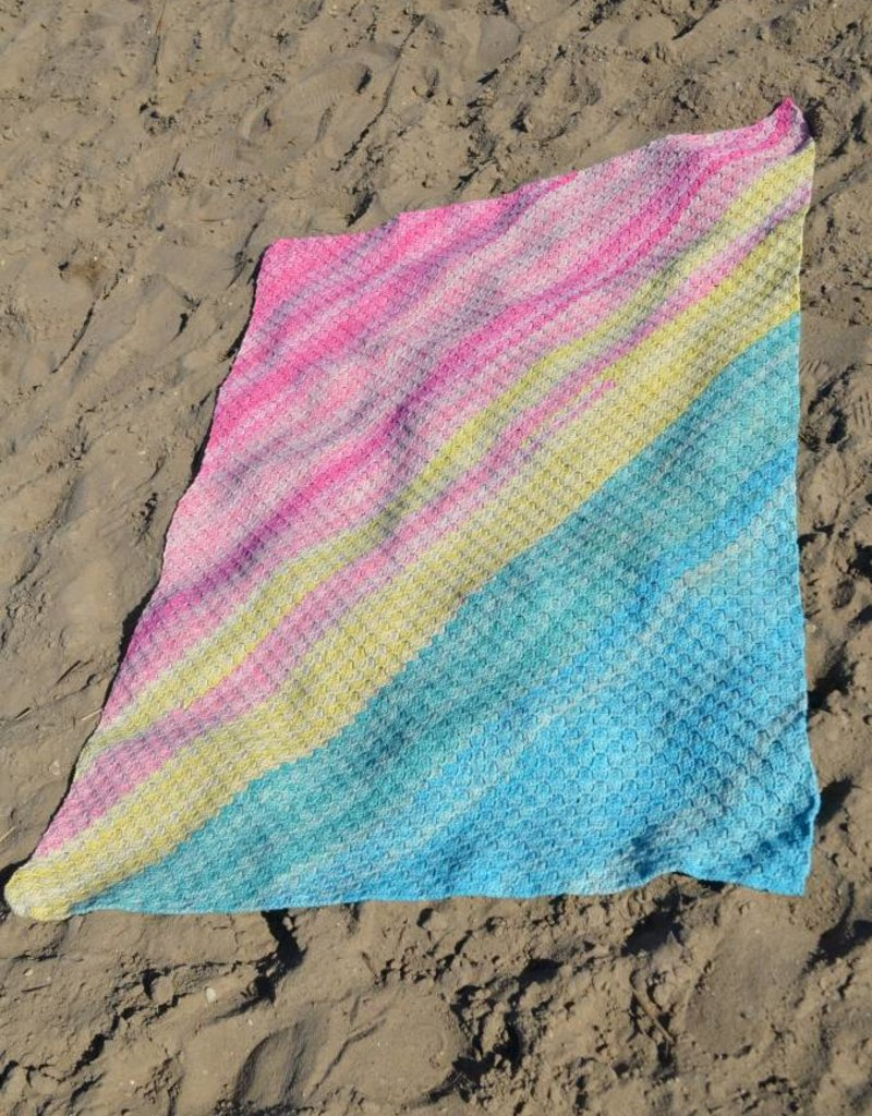 Haakpakket Sunset Sky Summer Blanket