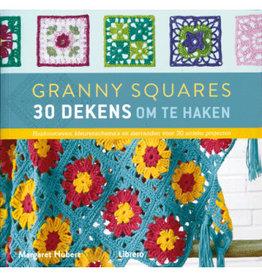 Granny Squares 30 dekens - Margaret Hubert