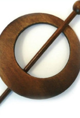 Vestsluiting hout 80 mm