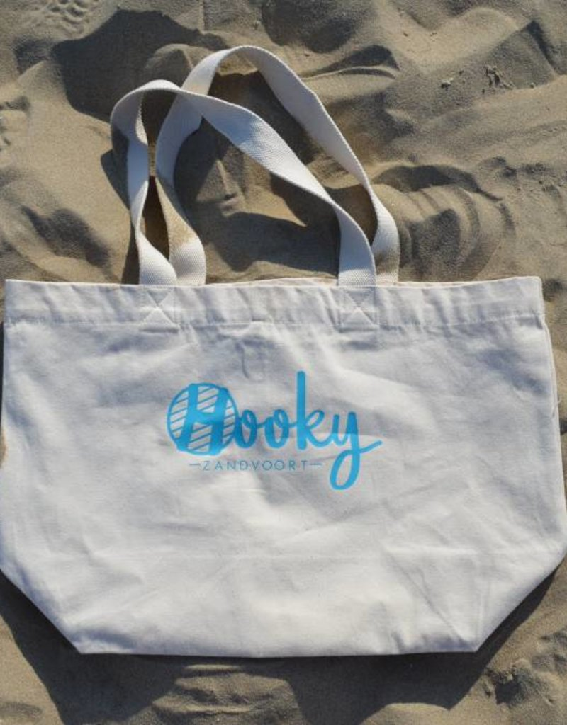 Beach bag Organic Cotton 'Crochet by the Ocean'