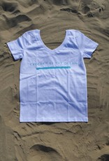 Organic Cotton T-shirt 'Crochet by the Ocean'