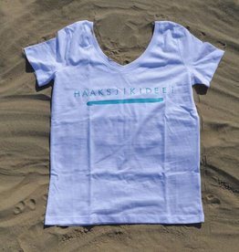 Organic Cotton T-shirt 'Haaksjikidee!'
