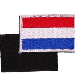 Camaleon Embleem stof vlag Holland met klitteband