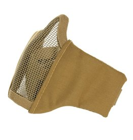 101 inc Coyote AIRSOFT FACE MASK NYLON/MESH