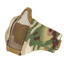 101 inc Copy of Woodland AIRSOFT FACE MASK NYLON/MESH
