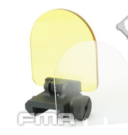 FMA FMA Lens Protector Tactical Scope Red Dot (Folding Cover w/2 Spare Lens) BK TB1039-BK