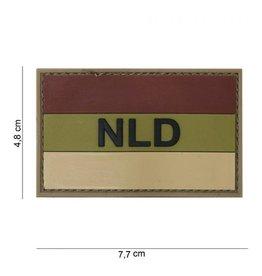 101 inc Embleem 3D PVC NLD bruin/ecru