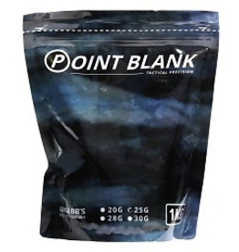 101 inc Airsoft BB's 0,30 gram point black 1 KG