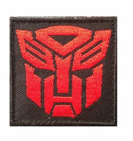 Camaleon Transformers Autobots Patch rood