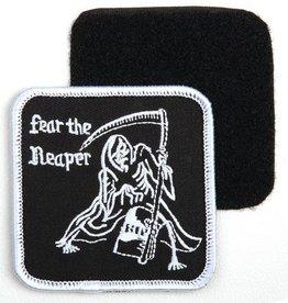 101 inc Embleem stof fear the reaper met klitteband