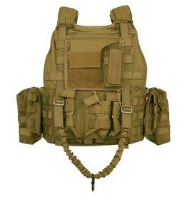 101 inc Tactical vest Ranger Black Coyote of OD