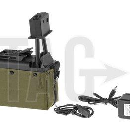 A&K M249 Box Mag 1500rds OD