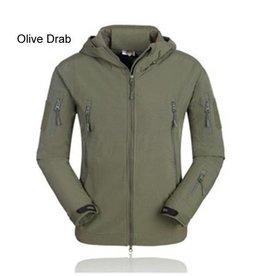 Camaleon Softshell windbreaker Olive Drab