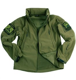 101 inc Soft Shell jack tactical Green