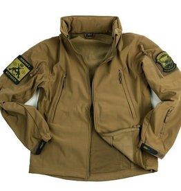 101 inc Soft Shell jack tactical - Khaki