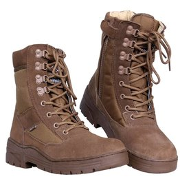 101 inc Pr. sniper boots WITH YKK ZIPPER Khaki