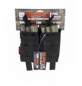 Nuprol PMC AK Double Open Mag Pouch - Black