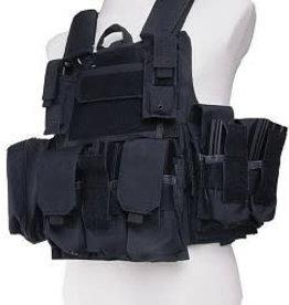 GFC Tactical Maritime type vest - black