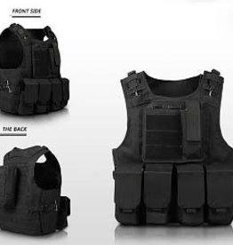 Camaleon Tactical Molle Vest Black