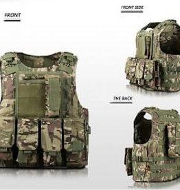 Nuprol Tactical Molle Vest Multicam patern