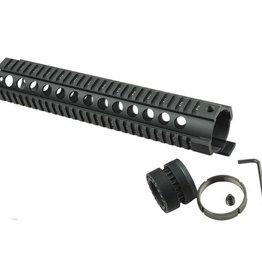 Camaleon Tactical T-Serie 4/15 Free Float 12 Inch Handguard Quad Rail Scope Mount