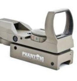 Phantom Multi dot red/green dot sight w/mount (Desert) 15X35BKDE