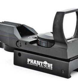 Phantom Multi dot red/green dot sight w/mount (black) 15X35BK