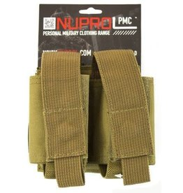 Nuprol PMC Double 40mm Pouch - Tan