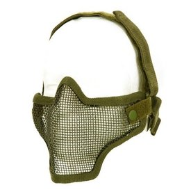 Invader Gear mesh half face mask