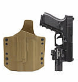 Warrior Assault Systeem ARES Kydex Holster for Glock 17/19 with X400