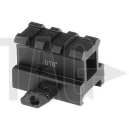 Leapers Medium Profile 3-Slot Twist Lock Riser Mount