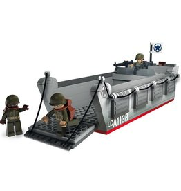 Sluban WWII LANDING CRAFT ASSAULT M38-70070