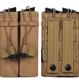 101 inc MOLLE POUCH SIDE ARM 2 MAGAZIJNEN diverse came