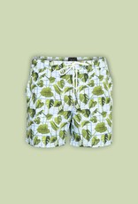 GSUS Plants And Grid Swimshorts